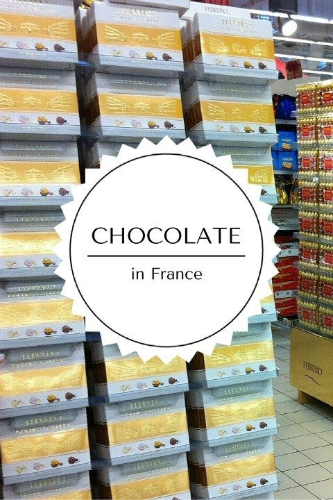 Chocolate and France