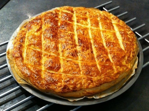 homemade galette des rois Kings Cake France