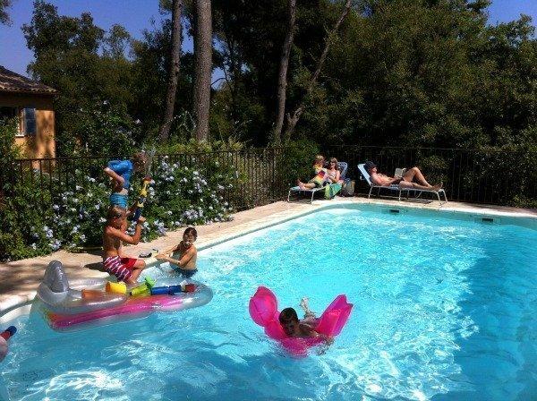 pool at Lou Messugo self-catering gite