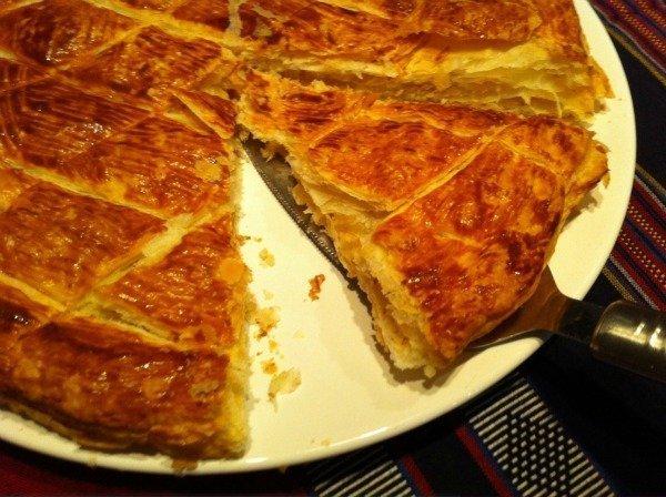 serving the galette des rois