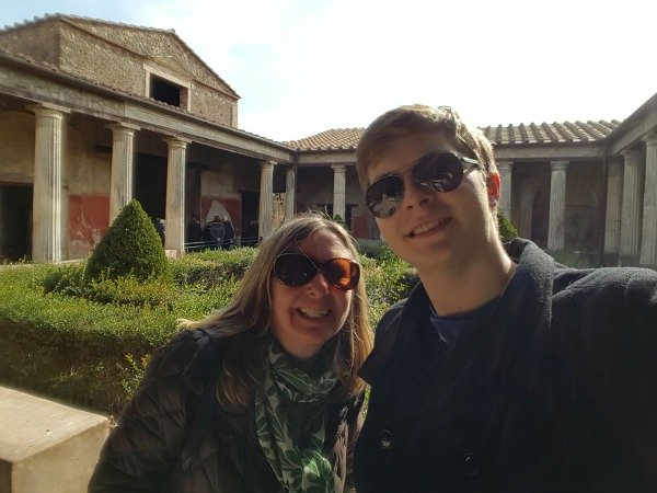 merchant house in Pompeii