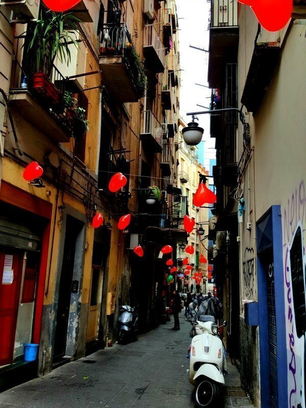 Sunday Photo – Valentine's Day in Naples Itlay