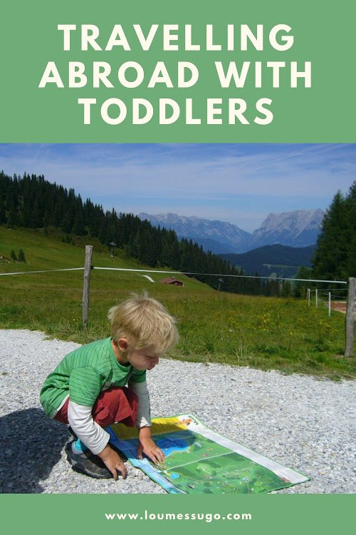 travelling abroad with toddlers | Lou Messugo
