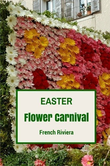 Easter flower Carnival French Riviera