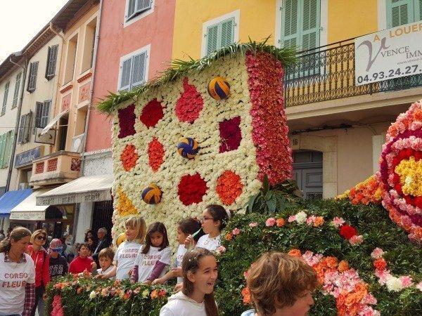 Vence carnival corso fleuri