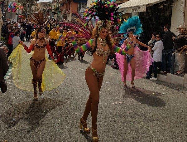 Vence carnival parade