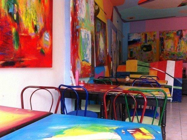 breakfast room in Bratislava