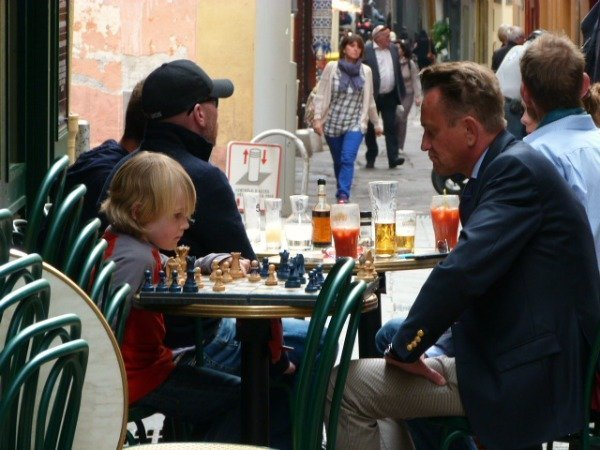 chess players in Nice