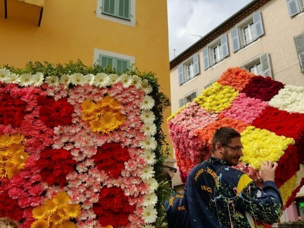 flowers at Vence carnival