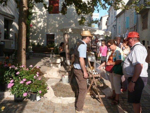 la Colle sur Loup fête des metiers dantan
