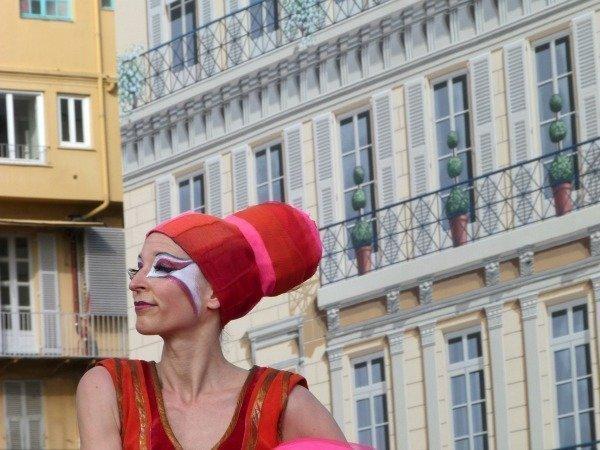 performer Nice carnival