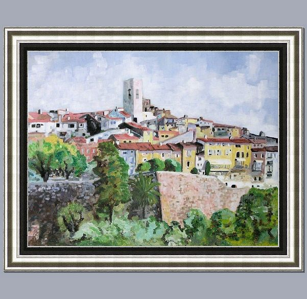 StPauldeVencePainting 2015 2South of France