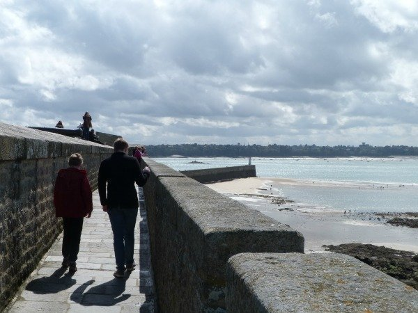 St Malo old walls
