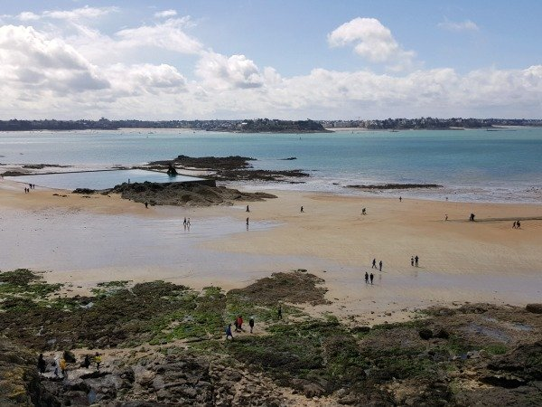 St Malo towards Dinard