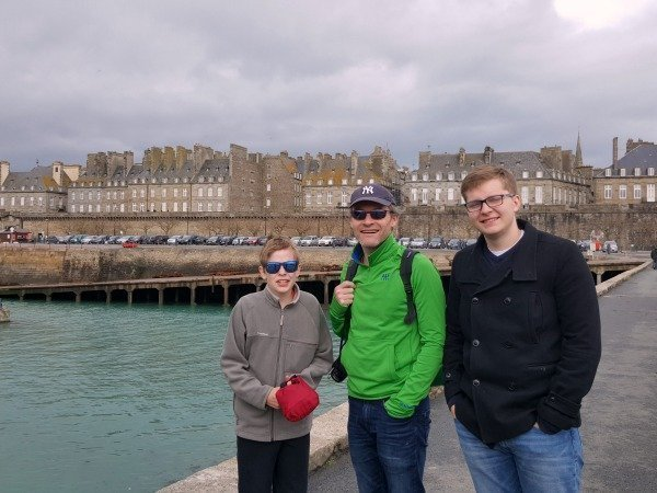 arriving in St Malo