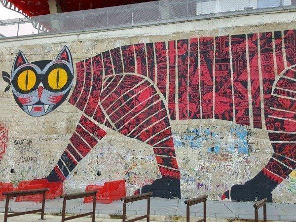 cat mural Nantes