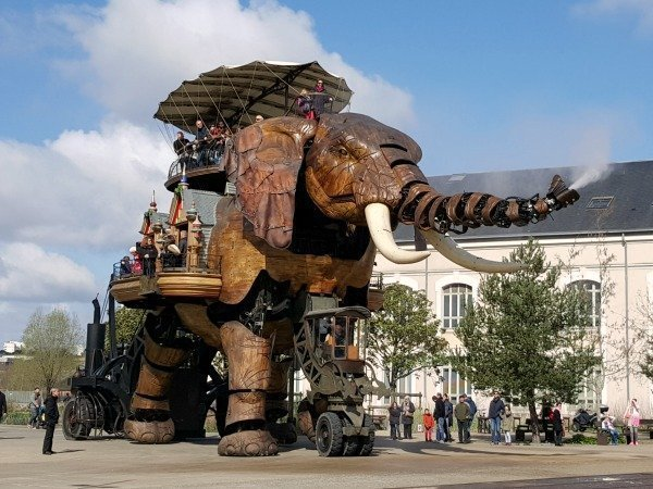 Nantes and its Fabulous Giant Elephant