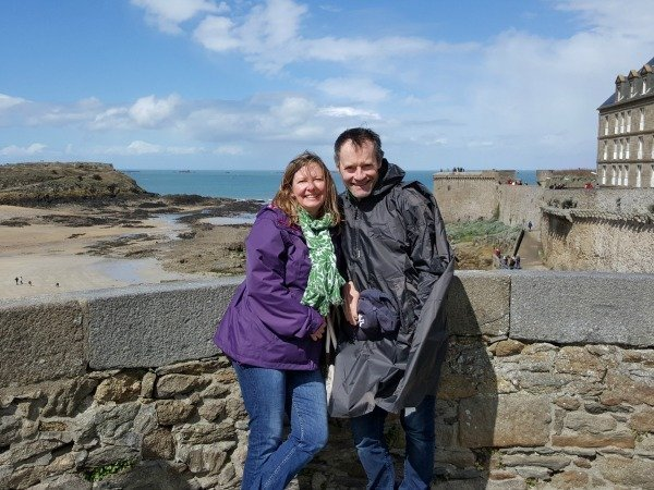 pose in St Malo