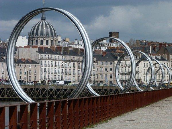 public art Loire river Nantes