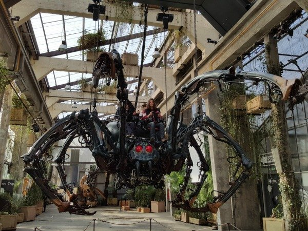 spider machines de Nantes