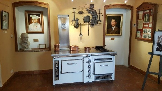 A visit to the Escoffier Museum of Culinary Art