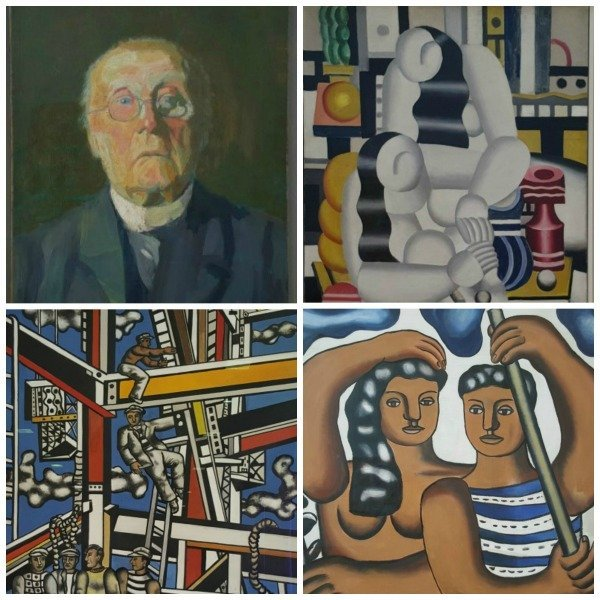 Fernand Leger collage