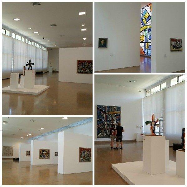 Fernand Leger museum interior