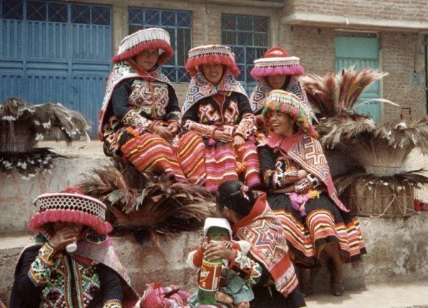 Festival Virgin of Candelaria Peru