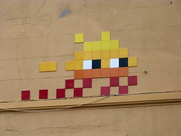 Space Invader Marseille le Panier