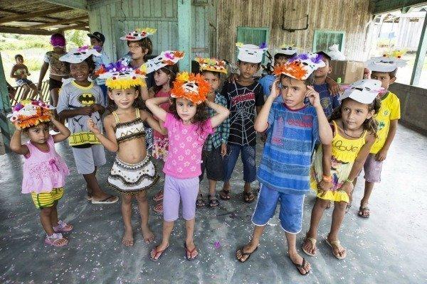 carnaval in Moura Brazil
