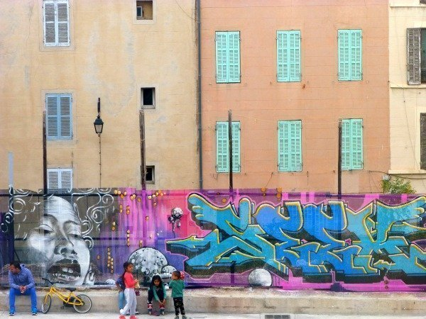 Street art and charm in Le Panier Marseille