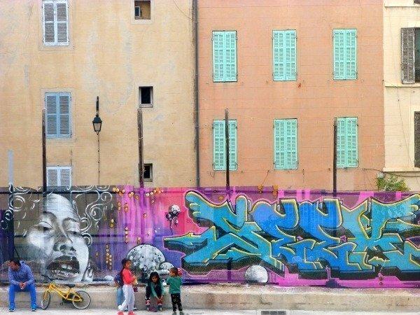 le Panier Marseille street art