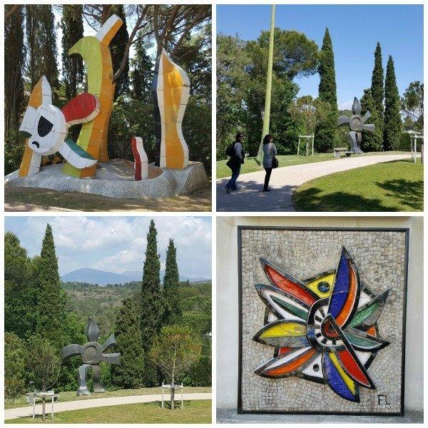 sculptures Fernand Leger museum