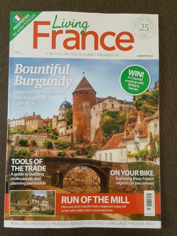 Living France magazine July 2016