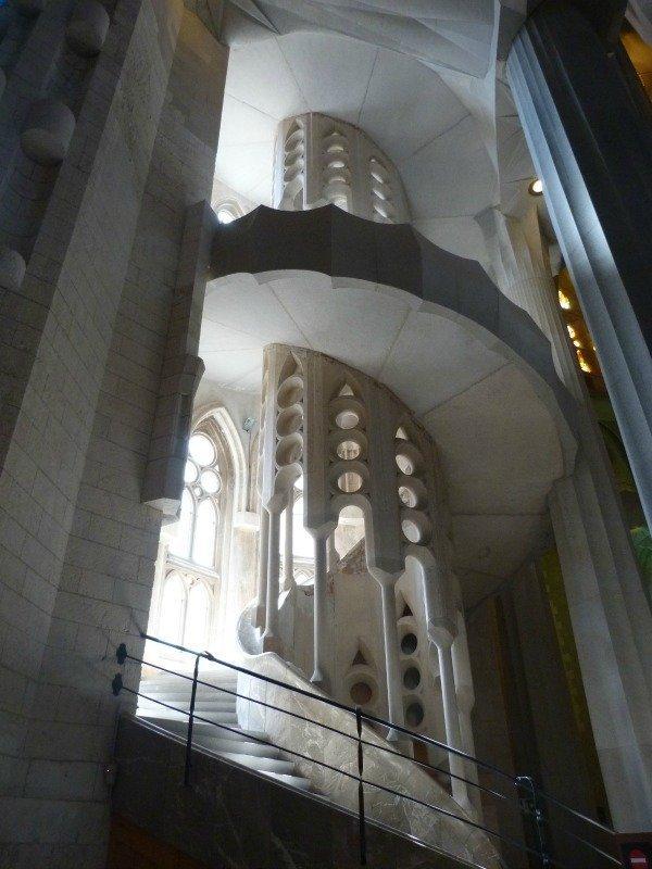 Sagrada Familia stairs
