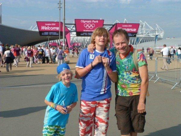 London Olympics park entrance