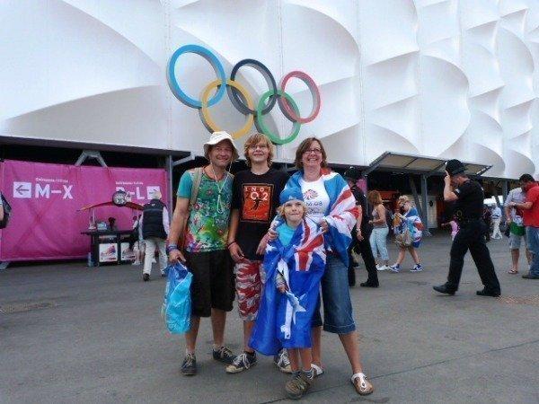 at London Olympics