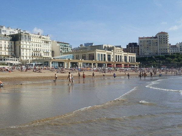 Biarritz Grand Plage seafront