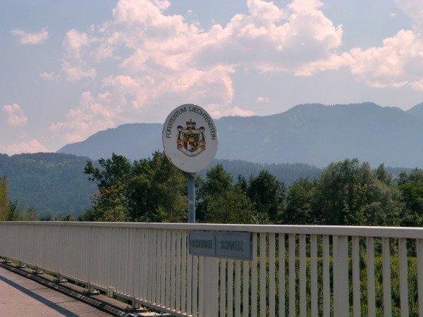 Liechtenstein border