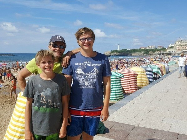 boys in Biarritz