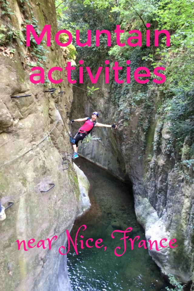 mountain activities near Nice