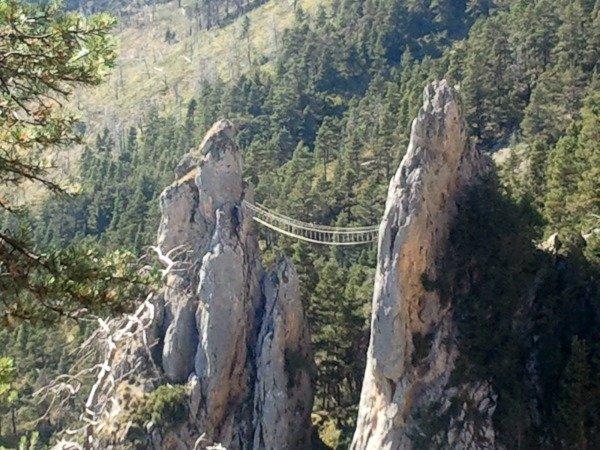 pont des singes via ferrata la colmiane