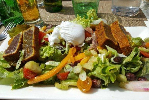 modern salad nicoise