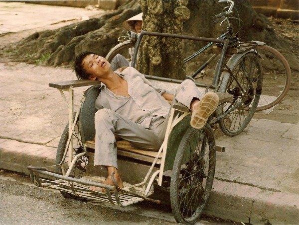 vietnam memories hanoi cyclo