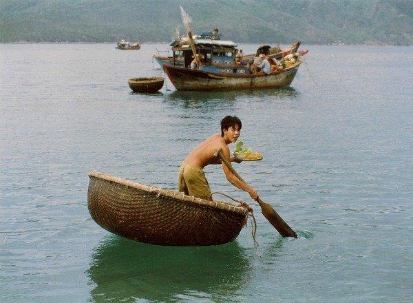 vietnam memories basket boat
