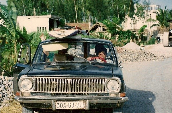 volga car in Vietnam 1992