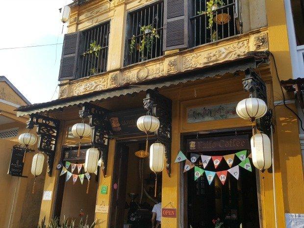 Faifo coffee shop Hoi An