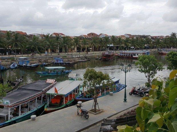 Hoi An river scene