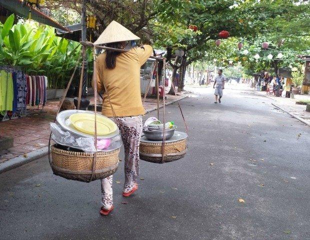 food seller Hoi An