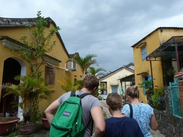 getting lost in Hoi An